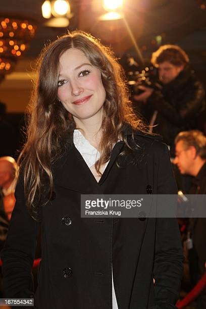 Schauspielerin Alexandra Maria Lara Auf Dem Medienboard Empfang In Berlin