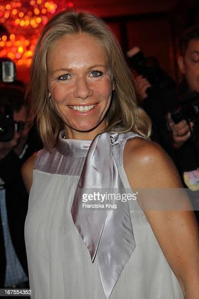 Schauspielerin Claudine Wilde Auf Dem Medienboard Empfang In Berlin