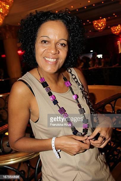 Schauspielerin Mo Asumang Auf Dem Medienboard Empfang In Berlin