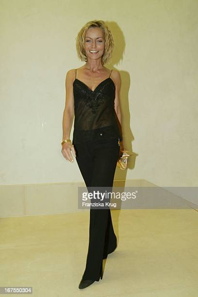 Christiane Gerboth Feiert Im Felix Vom Adlon