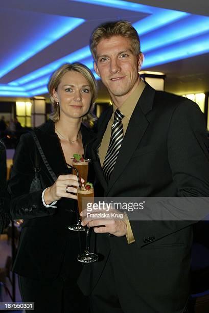 Fussballer Marko Rehmer Mit Ehefrau Daniela Im Felix Vom Adlon