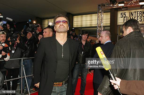 George Michael Bei Der Premiere A Different Story Im Berlinale Palast In Berlin