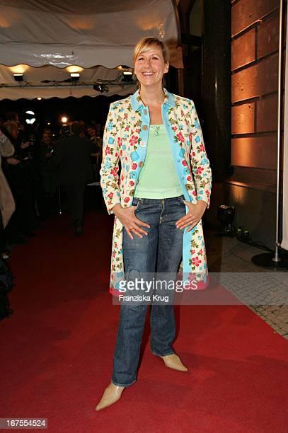 Moderatorin Andrea Kiewel Bei Der People'S Night Im Borchardt In Berlin