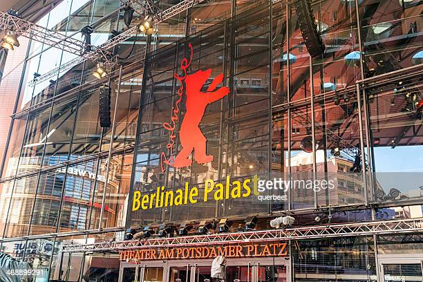 berlinale palast potsdamer platz - film festival stock pictures, royalty-free photos & images