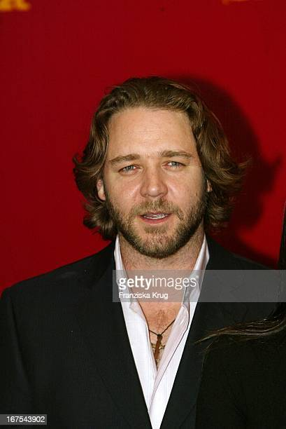 Russell Crowe Bei Fotocall Zu 'A Beautiful Mind'
