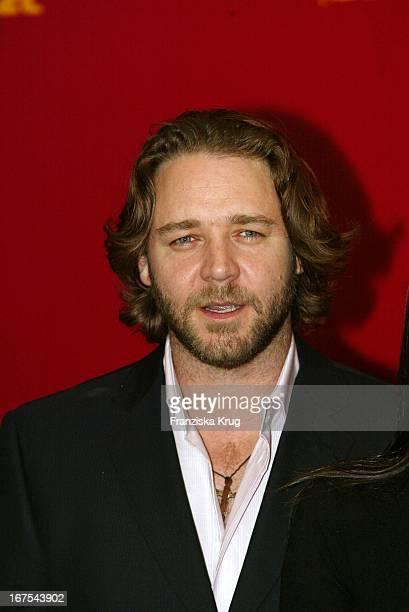 Russell Crowe Bei Fotocall Zu A Beautiful Mind