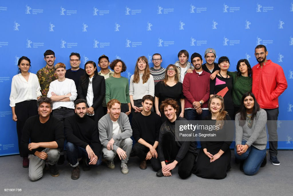 Berlinale Shorts Directors Photo Call - 68th Berlinale International Film Festival : News Photo