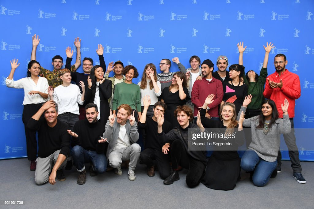 Berlinale Shorts Directors Photo Call - 68th Berlinale International Film Festival : News Photo