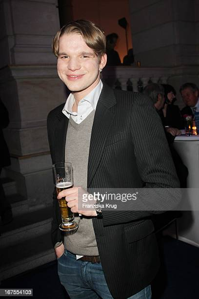 Tobias Schenke Bei Der Ard Blue Hour Opening Party Im Museum Für Kommunikation In Berlin