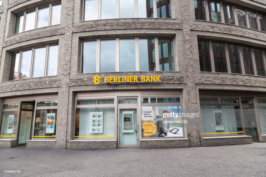 Berliner Bank Filiale Pictures | Getty Images on