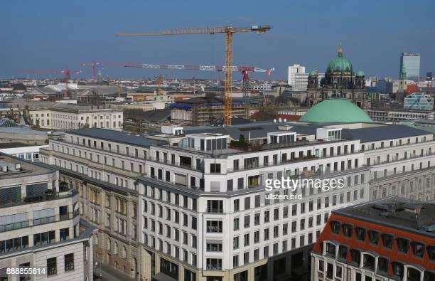 Berliner Luxuswohnungen und 425 m2 Ladenflaeche im neuen GendarmenPalais im OpernCarre an Kreuzung Markgrafenstrasse 42 / Ecke Franzoesische Strasse...