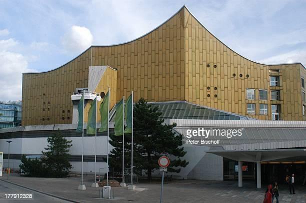 Berliner Philharmonie 'Zirkus Karajani' Kemperplatz Tiergarten Berlin Deutschland Europa Heimstätte 'Berliner Philharmoniker' NachkriegsArchitektur...