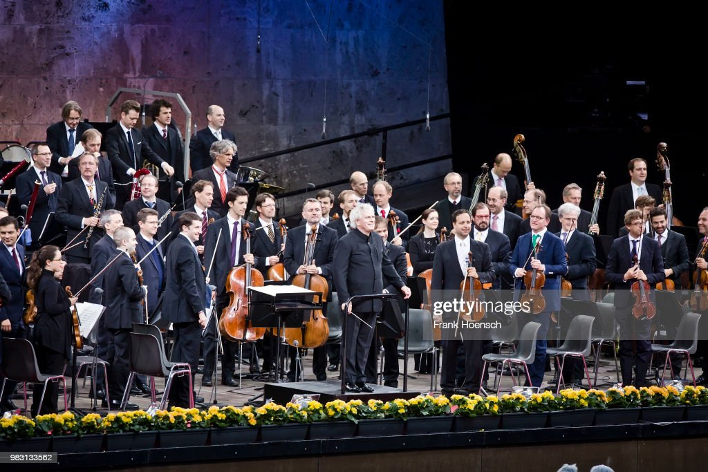 Berliner Philharmoniker Perform In Berlin