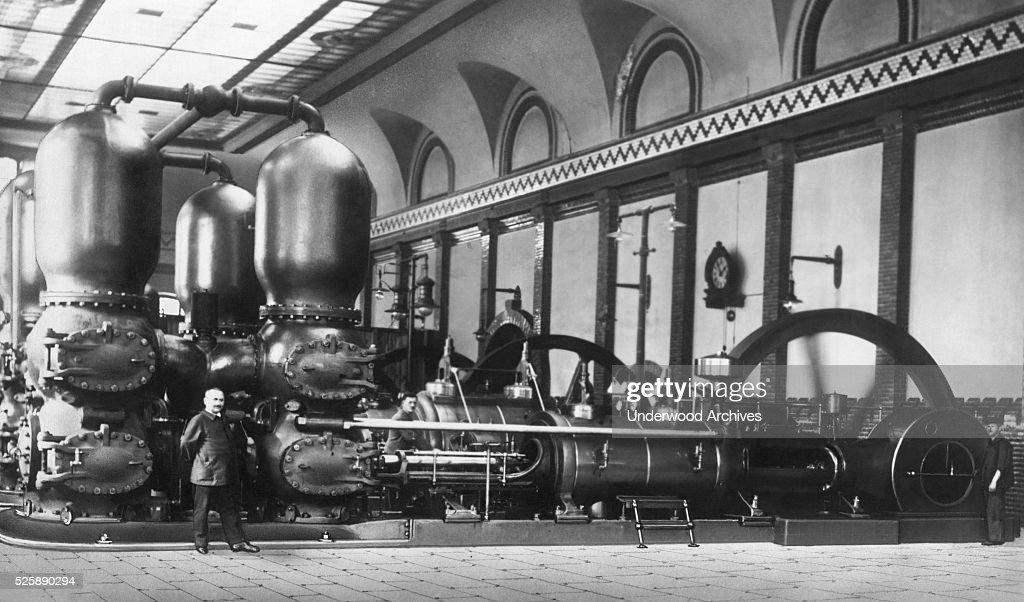 Berlin Pumping Station : Nachrichtenfoto