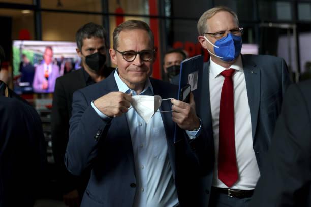 DEU: Social Democrats (SPD) React To Election Results