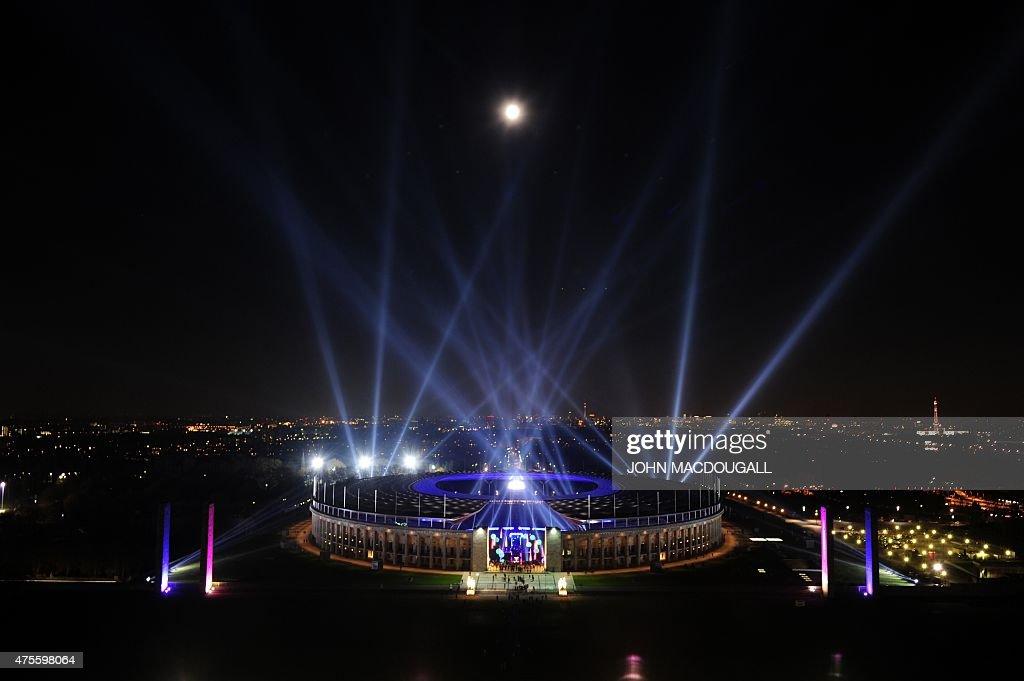 GERMANY-FESTIVAL-OLYMPIC STADIUM : News Photo