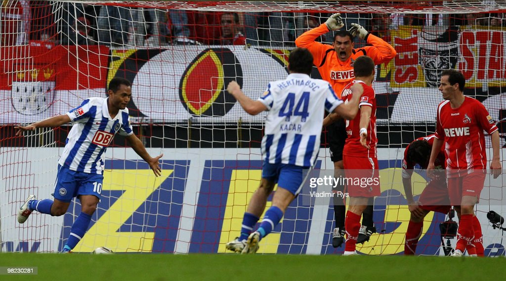 1. FC Koeln v Hertha BSC Berlin - Bundesliga