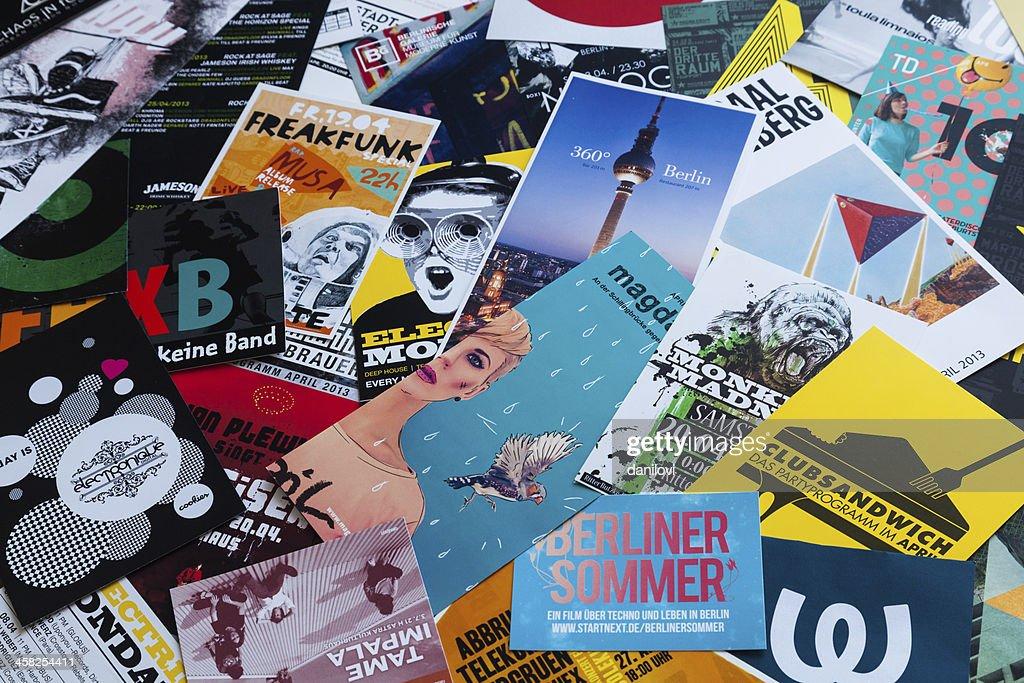 Die Typografie Berlin : Stock-Foto