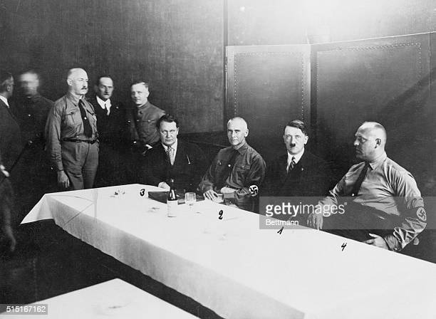 BerlinThe back bone of Germany's national socialist party is shown in this photo asembled in conference as the Reichstag reopensThe party is now the...