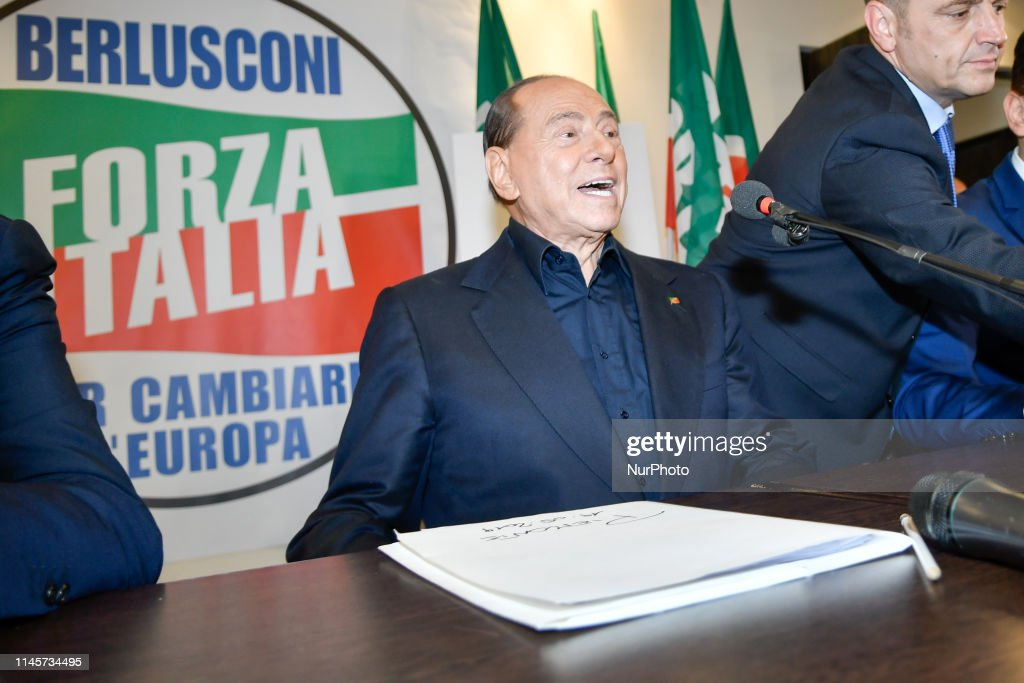 ITA: Electoral Rally Of Berlusconi In Turin