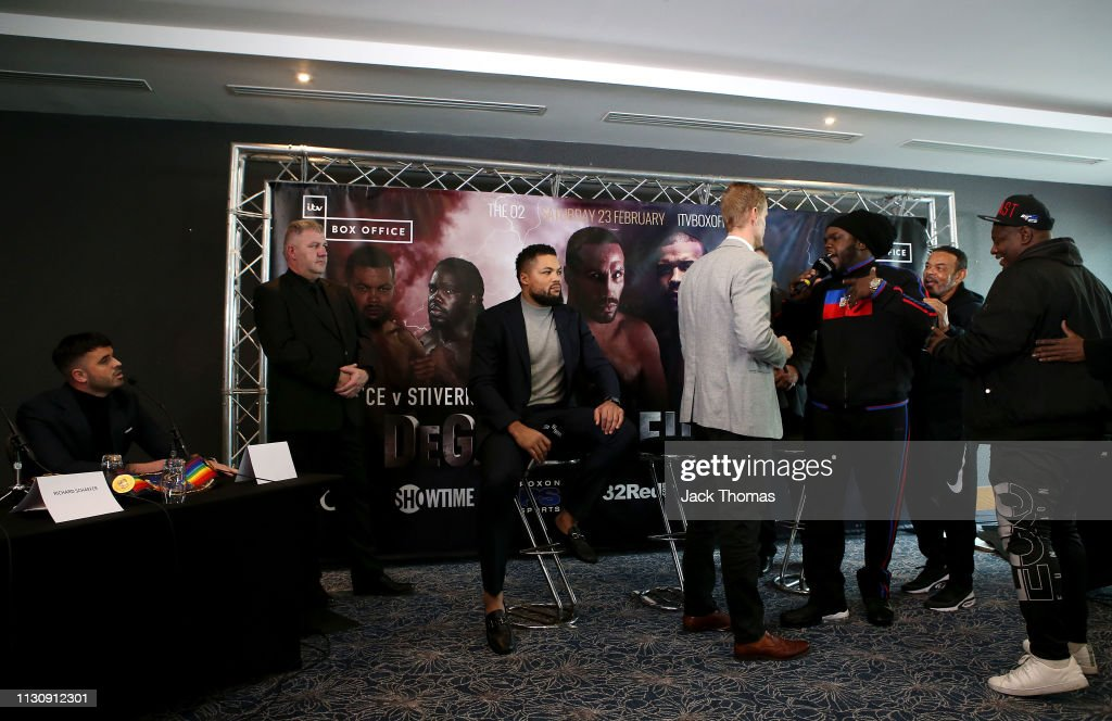 GBR: Boxing at The O2 - Undercard Press Conference