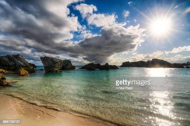 bermuda beach sunset