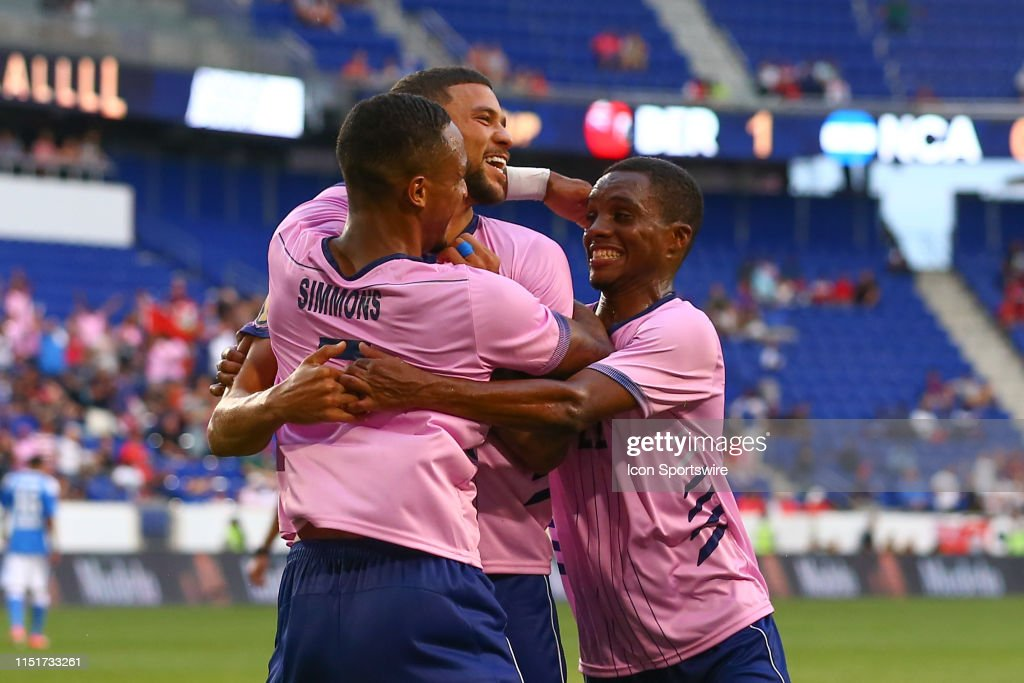 SOCCER: JUN 24 CONCACAF Gold Cup Group B - Bermuda v Nicaragua : News Photo