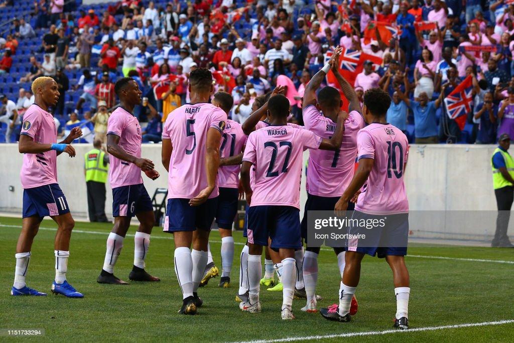 SOCCER: JUN 24 CONCACAF Gold Cup Group B - Bermuda v Nicaragua : News Photo