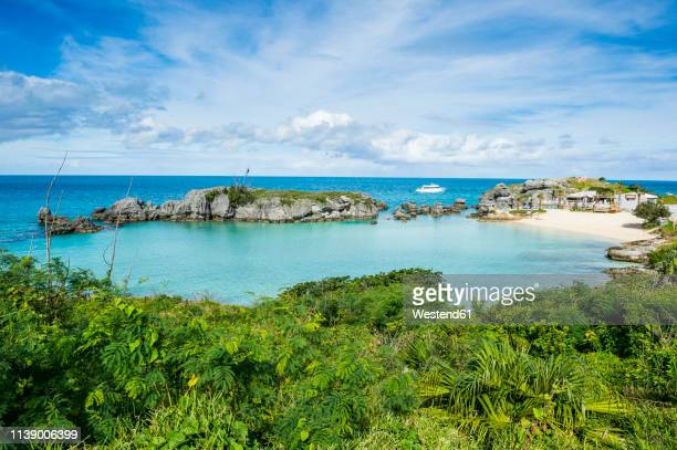 bermuda, st. george's, tobacco bay - bermuda stock pictures, royalty-free photos & images