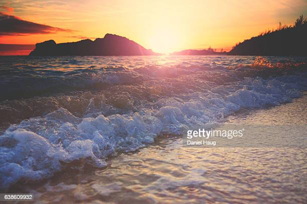 Bermudian Sunset Surf