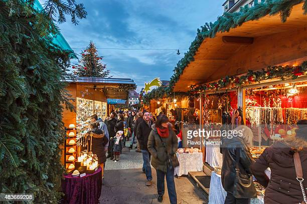 bern at christmas, switzerland - bern stock pictures, royalty-free photos & images