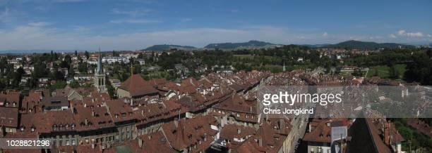 Bern City Skyline Panorama