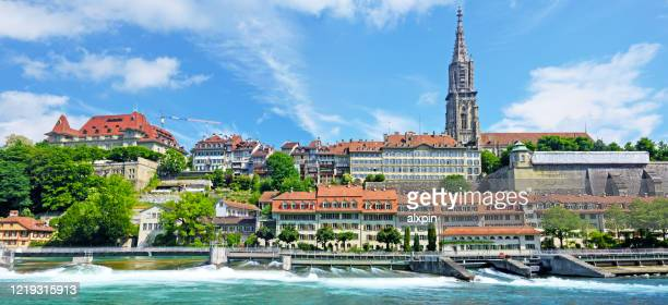 bern minster, switzerland - bern canton stock pictures, royalty-free photos & images