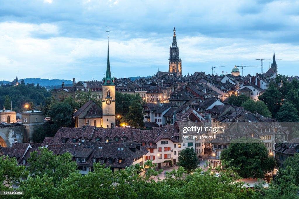 Bern Panorama : Stock-Foto