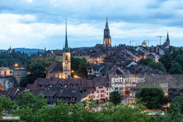bern panorama - wolfgang wörndl stock pictures, royalty-free photos & images