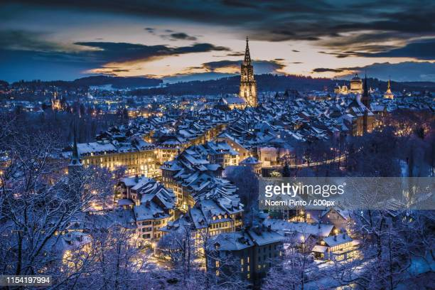 bern (landscape format) - bern stock photos and pictures