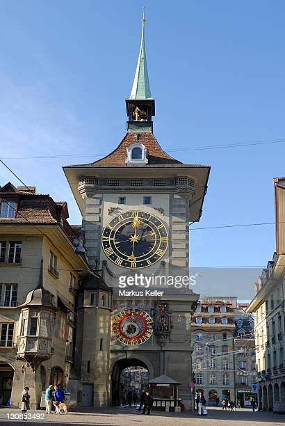 Bern - the historical Zeitglockenturm - Switzerland, Europe.