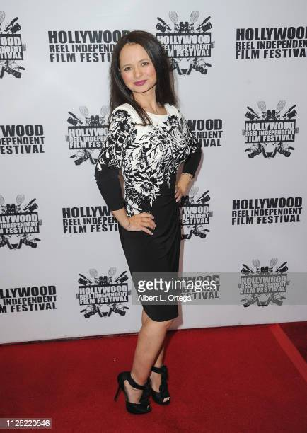 Berna Roberts arrives for The 2019 Hollywood Reel Independent Film Festival held at Regal LA Live Stadium 14 on February 15 2019 in Los Angeles...