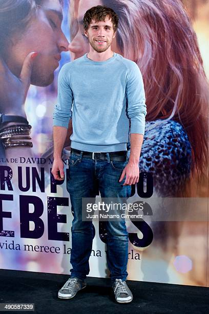 Bernabe Fernandez attends 'Por Un Punado De Besos' premiere at Callao Cinema on May 14 2014 in Madrid Spain