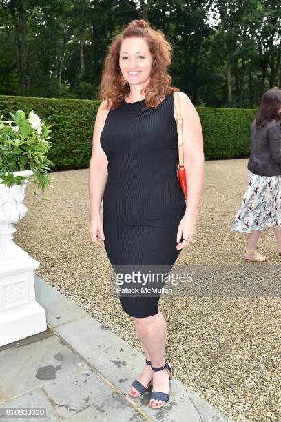 Bernadett Vajda attends Katrina and Don Peebles Host NY Mission Society Summer Cocktails at Private Residence on July 7 2017 in Bridgehampton New York