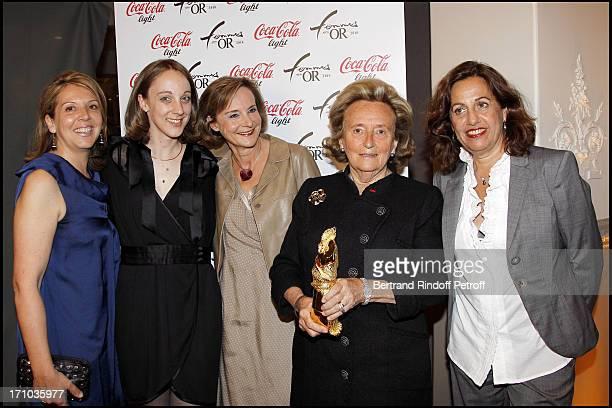 Bernadette Chirac Anne Barrere at Des Femmes En Or 18th Awards Ceremony 2010 At Salle Wagram