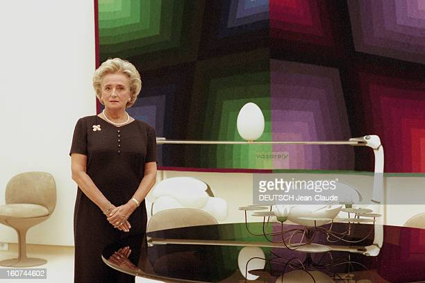 Bernadette Chirac Launches Campaign 'Let's Give Colors To The Hospital' A Paris le 31 octobre 1997 Rendezvous avec Bernadette CHIRAC à l'Elysée à...