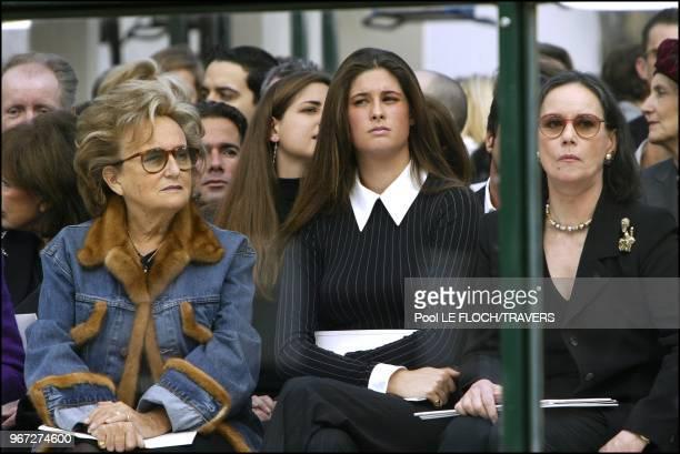 Bernadette Chirac Marie Caroline Ferry and Claudine Ogier