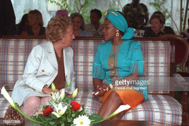 Bernadette Chirac with Edith Lucie Bongo