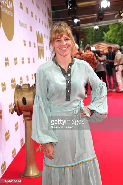 Bernadette Heerwagen during the Bavaria Film Reception One Hundred Years in Motion on the occasion of the 100th anniversary of the Bavaria Film...