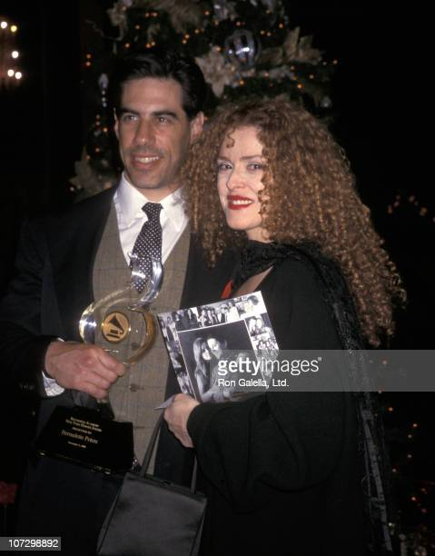 Bernadette Peters and Husband Michael Wittenberg during Bernadette Peters and Michael Wittenberg sighted at the 2000 Heroes Award Gala December 5...