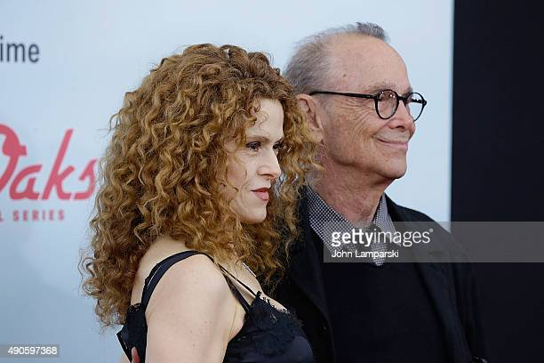Bernadette Peters and Joel Grey attend Red Oaks series premiere at Ziegfeld Theater on September 29 2015 in New York City