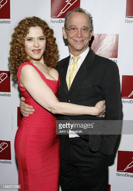 Bernadette Peters and Joel Grey attend the 63rd annual New Dramatists Spring Luncheon at the Marriott Marquis Hotel on May 24 2012 in New York City