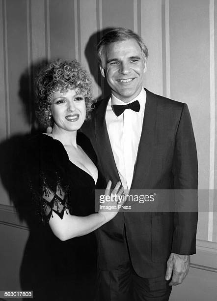Bernadette Peters and Steve Martin circa 1981 in New York City