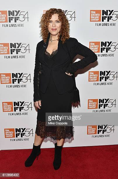Bernadette Peters attends A Quiet Passion and Neruda premiere during the 54th New York Film Festival at Alice Tully Hall on October 5 2016 in New...
